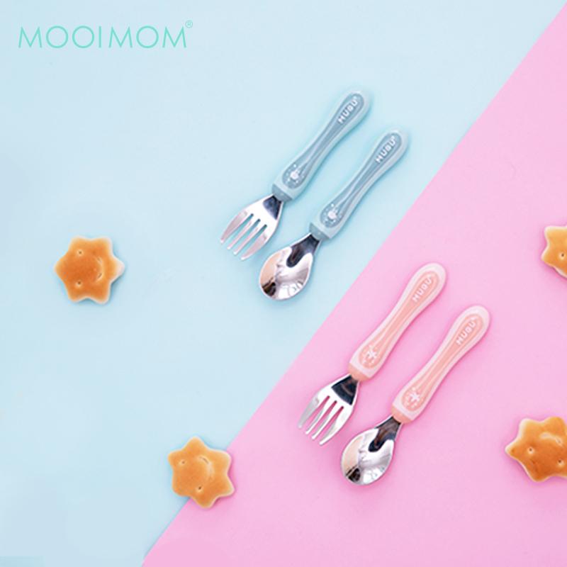 main mobile picture for MUGU®304不鏽鋼幼兒湯叉組