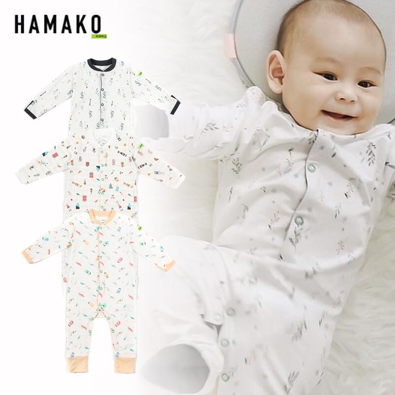 main mobile picture for [HAMAKO] Baju Bayi Terusan Panjang  | Basic Button Coverall