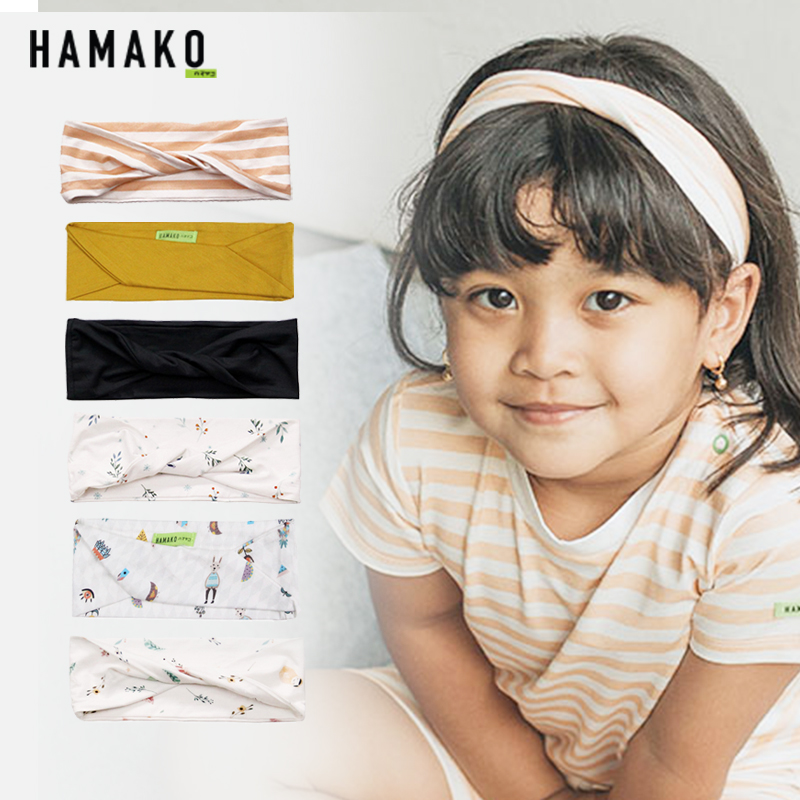 main mobile picture for [HAMAKO] Bando Bayi Mini Twist Headband