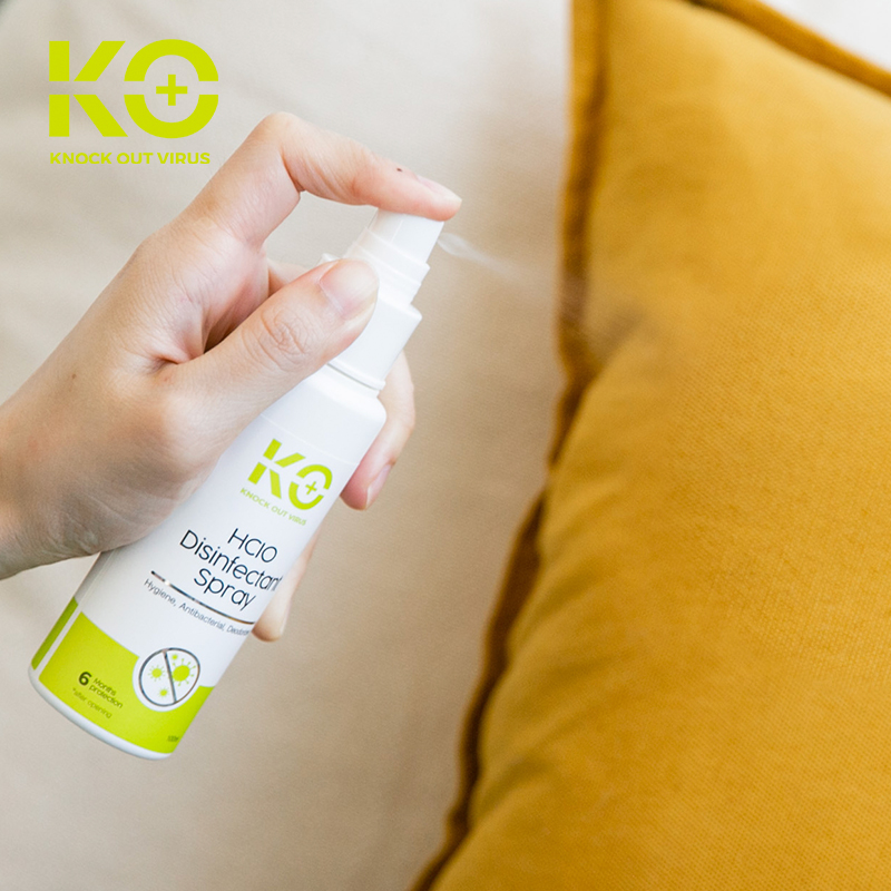 one gallery picture for [KO+] HClO Disinfectant Spray 100ml - Spray Antibakteri