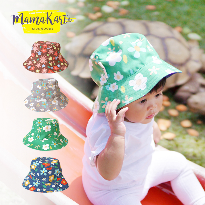 main mobile picture for [MAMA KARTI] Bucket Hat Flower - Topi Anak