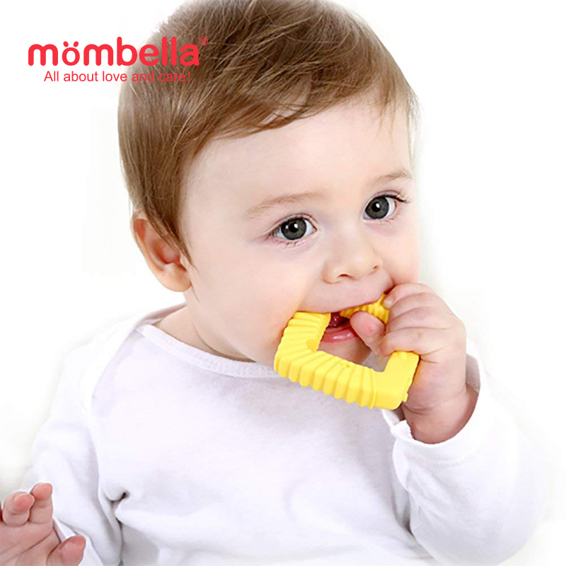 main mobile picture for [MOMBELLA] Educational Geometry Sensory Teether Toy Set - Lion