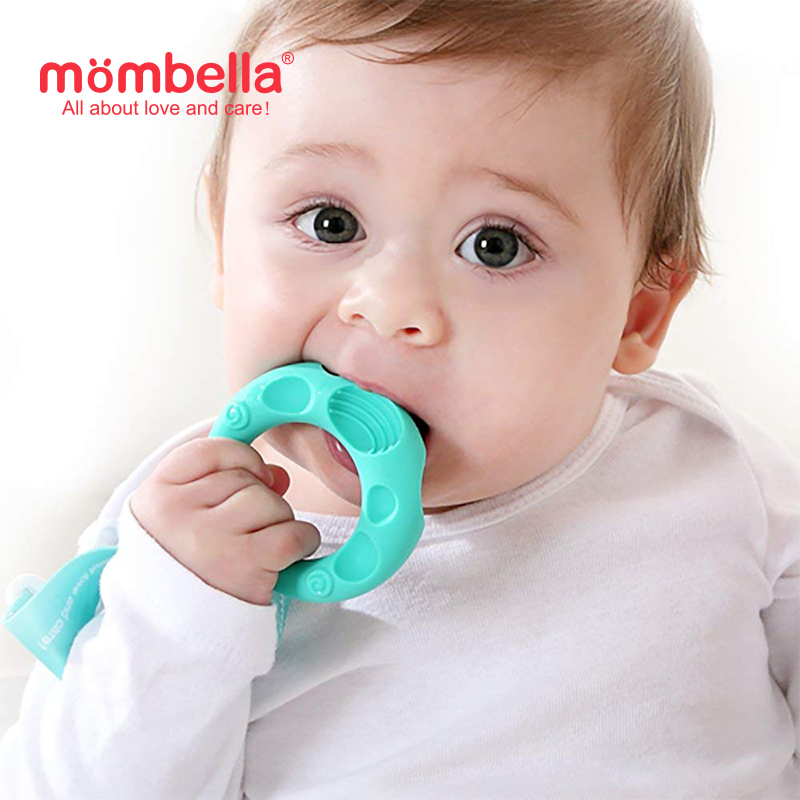 main mobile picture for [MOMBELLA]  Educational Geometry Sensory Teether Toy Set - Sheep