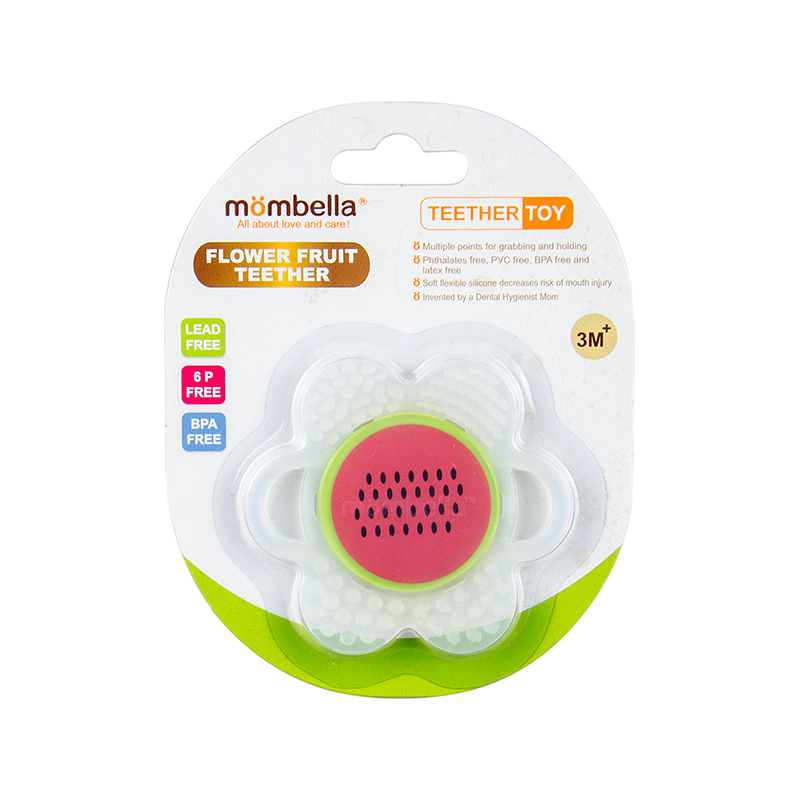 one gallery picture for [MOMBELLA] Flower Fruit Teether Mainan Gigitan Bayi