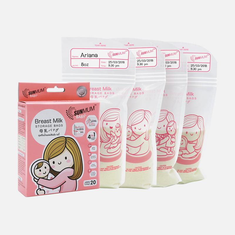 one gallery picture for [SUNMUM] Breastmilk Storage Bags Kantong ASI