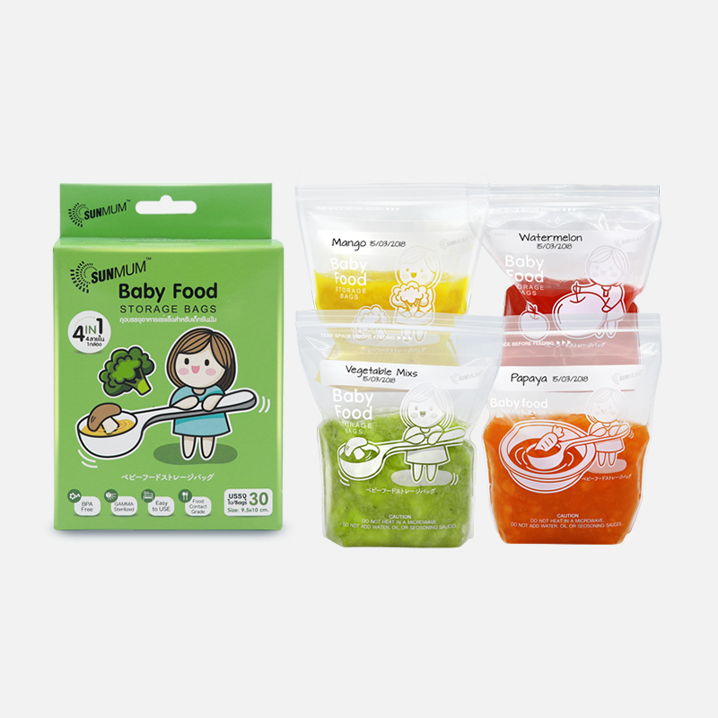 one gallery picture for [SUNMUM] Food Storage Bags Kantong MPASI Bayi (30 Bag)