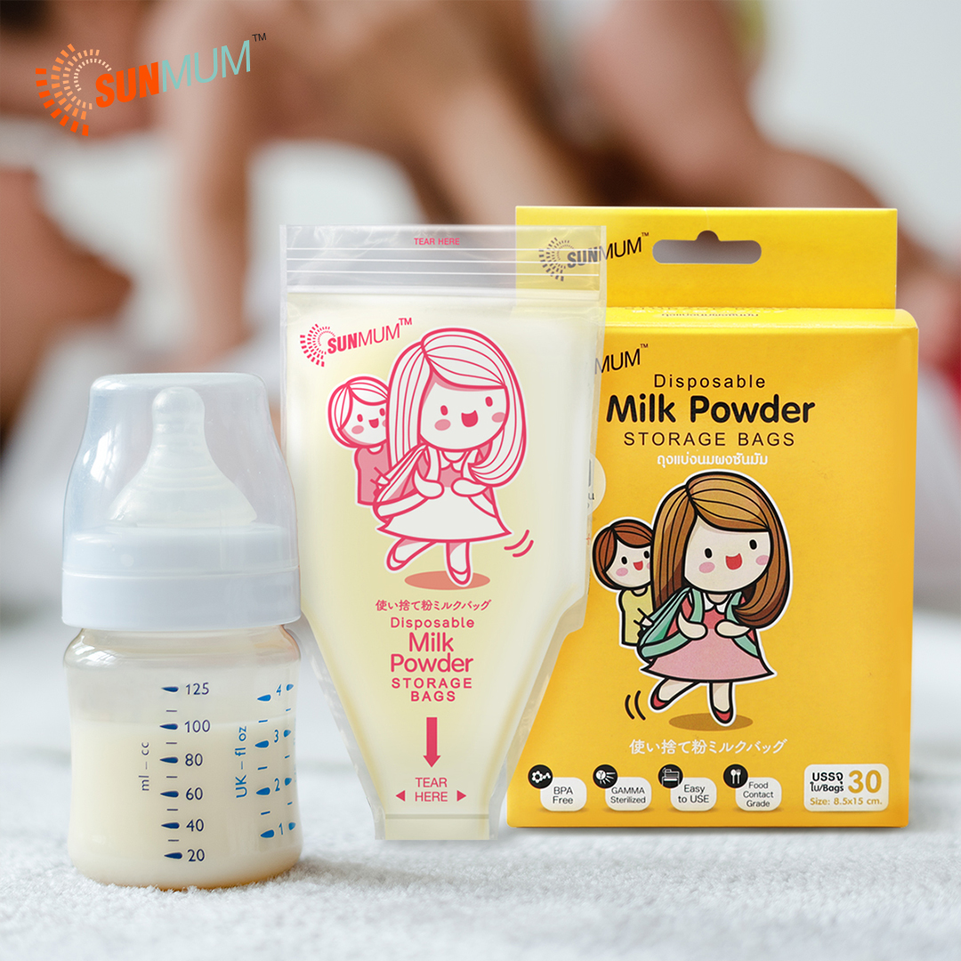 main mobile picture for [SUNMUM] Milk Powder Bag Kantong Susu Bubuk Bayi  (30 bag)
