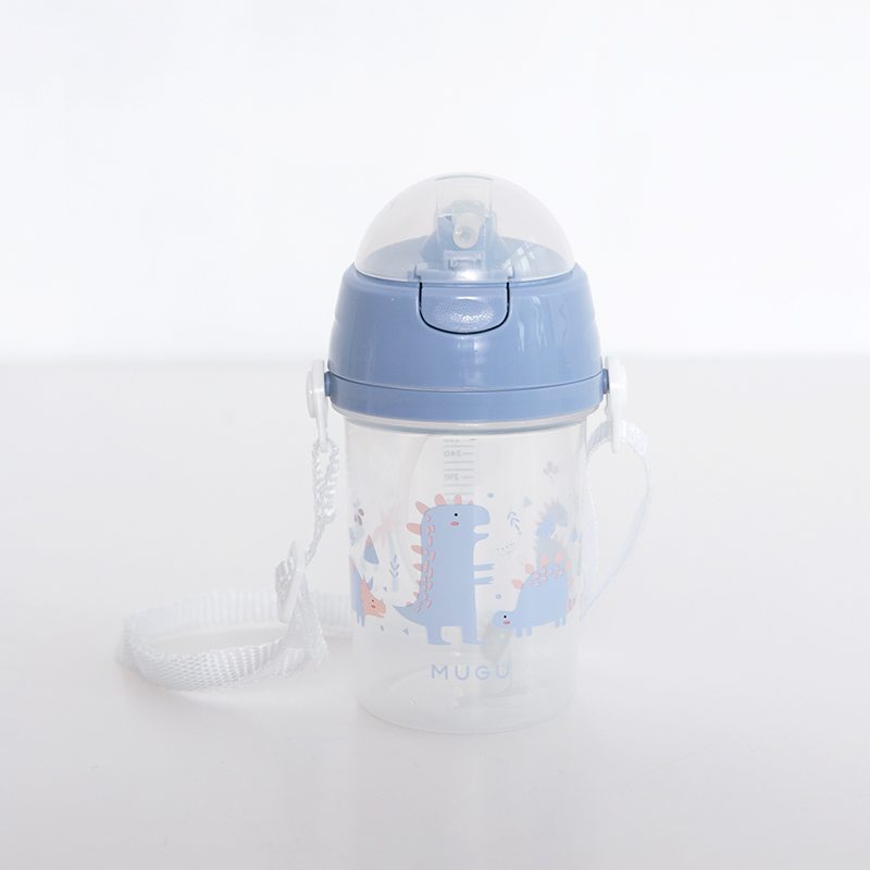 one gallery picture for [MUGU] Strap Drink Bottle 350ml - Botol Minum Anak