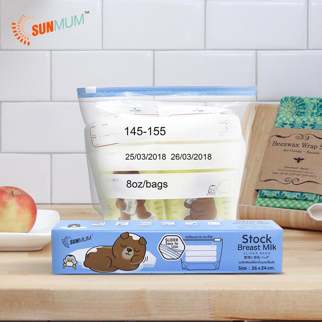 main mobile picture for [SUNMUM] Stock Bag For BreastMilk Storage Bag Kantong Stok ASI (10 bag)