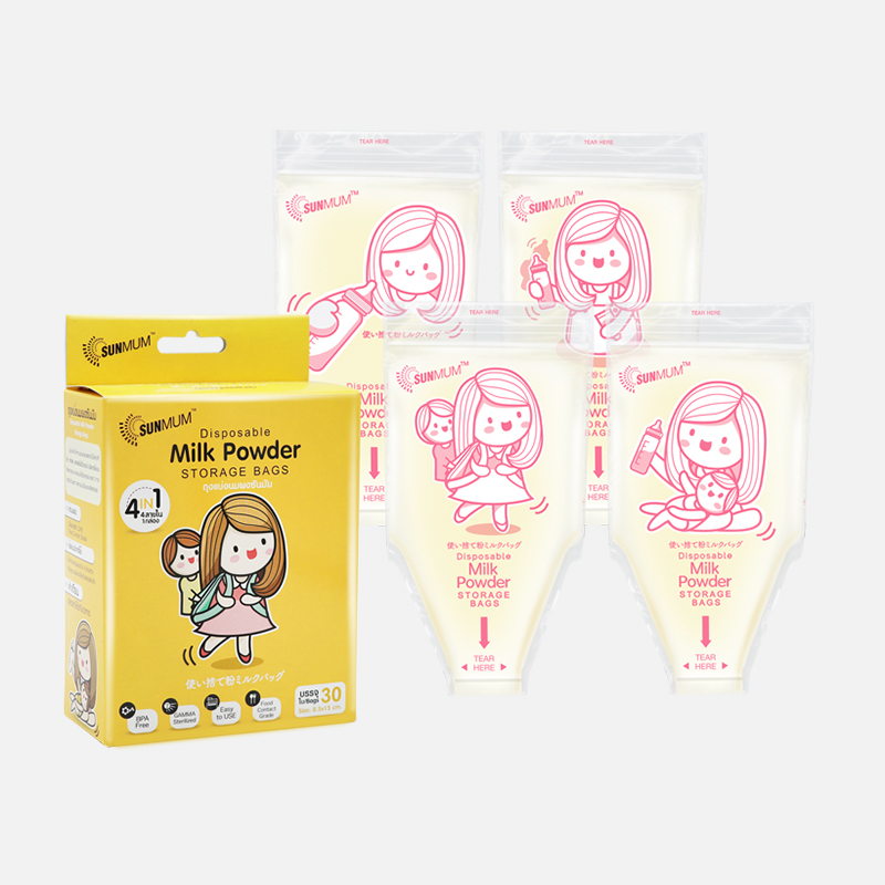 one gallery picture for [SUNMUM] Milk Powder Bag Kantong Susu Bubuk Bayi  (30 bag)