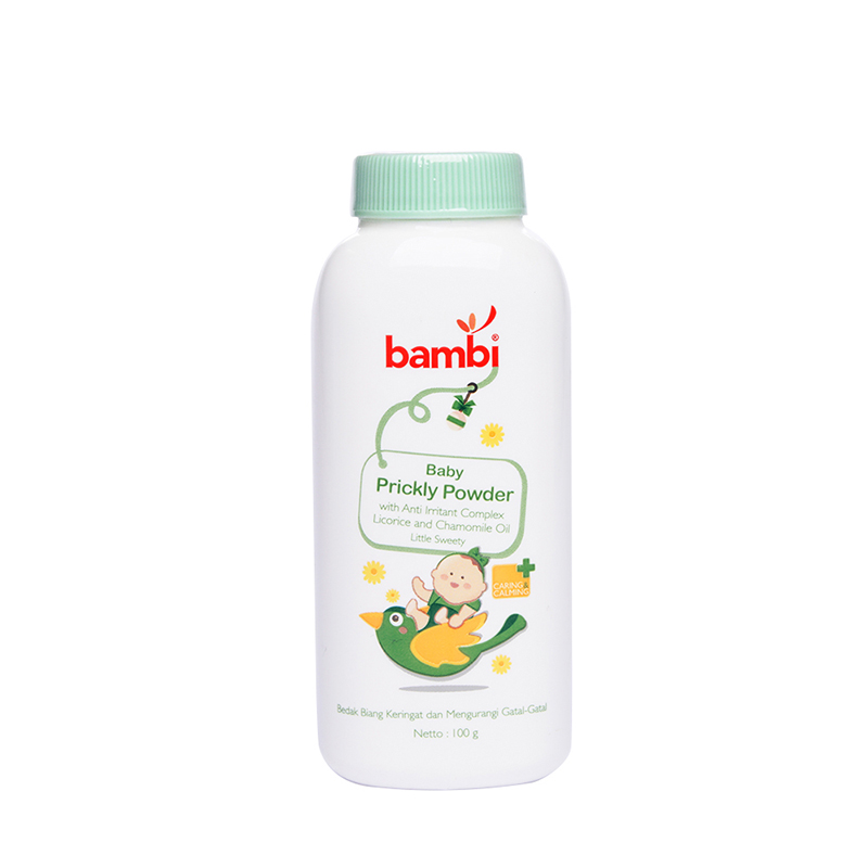 one gallery picture for [BAMBI] Baby Prickly Heat Powder Little Sweety 100gr - Bedak Bayi