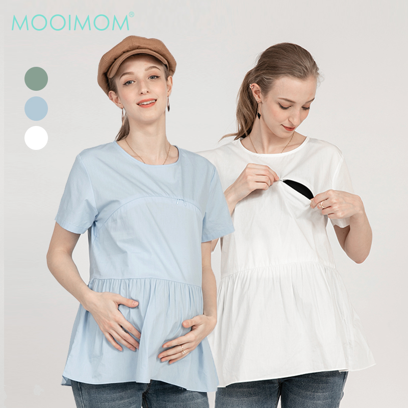 main mobile picture for MOOIMOM Casual Maternity & Nursing Top - Baju Hamil & Menyusui