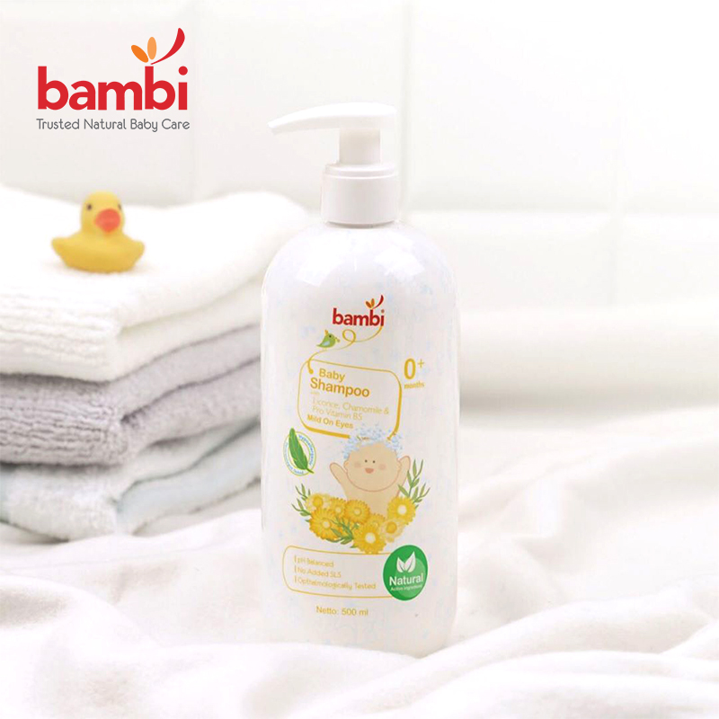 one gallery picture for [BAMBI] Baby  Shampoo 500 ML - Shampoo Anak