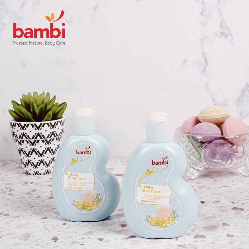 one gallery picture for [BAMBI] Baby Shampoo with Licorice & Chamomile 100ml