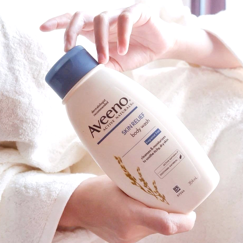 one gallery picture for [AVEENO] Skin Relief Body Wash 354ml