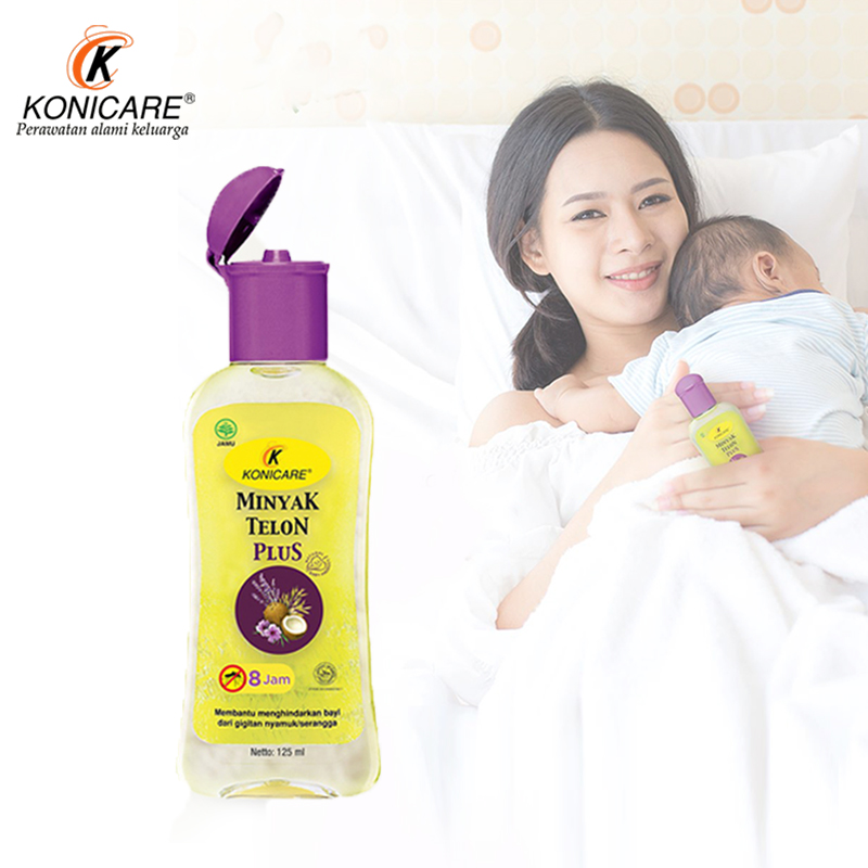 main mobile picture for [KONICARE] Minyak Telon Plus 60ml