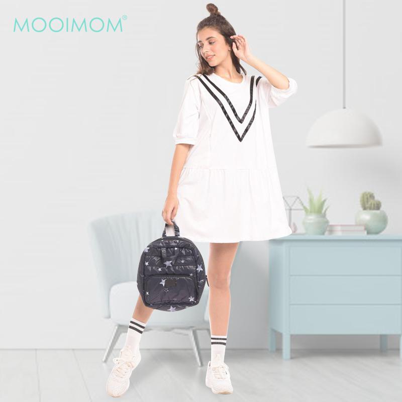 one gallery picture for MOOIMOM Casual Tape Zip Maternity & Nursing Dress Baju Hamil & Menyusui