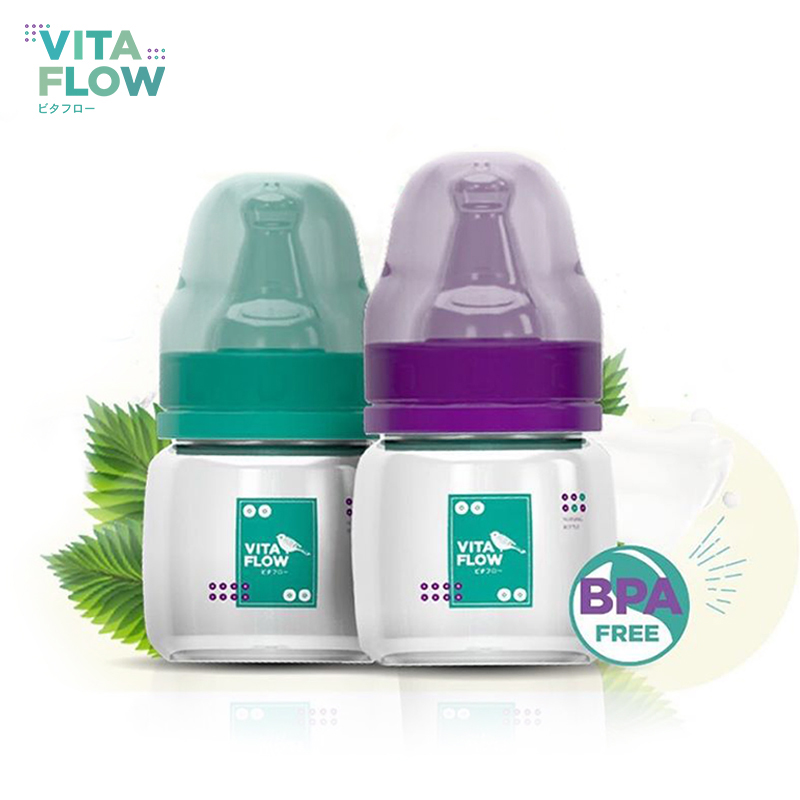 main mobile picture for [VITAFLOW] Botol Susu Multifungsi PP 60ml Dot Size S
