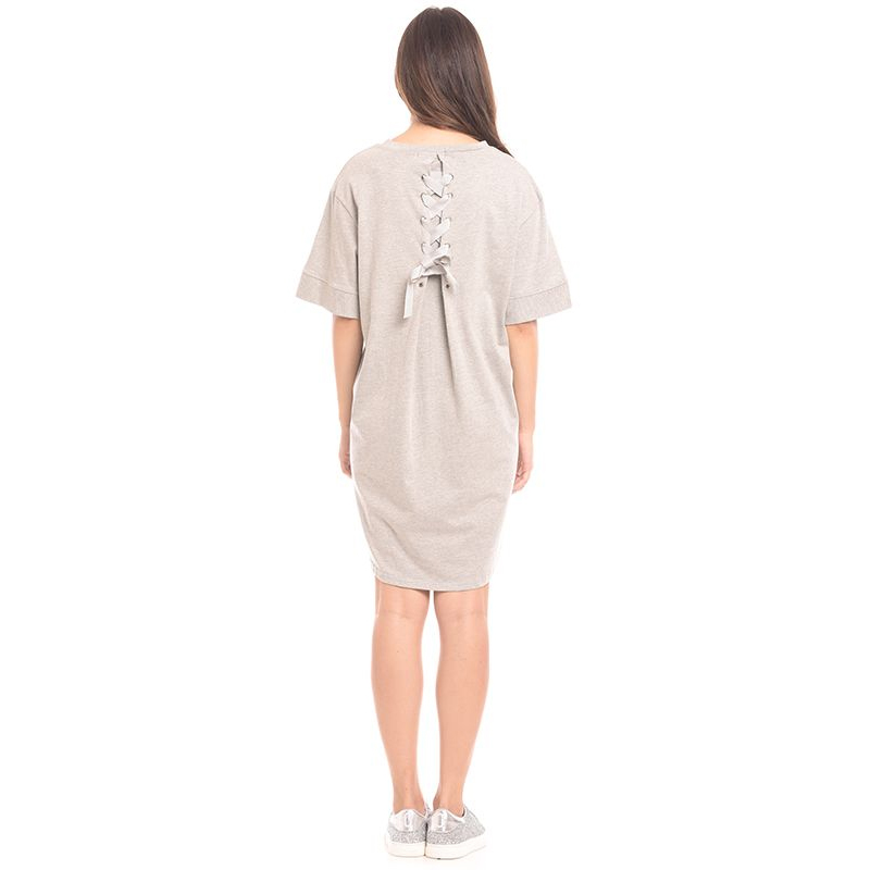 one gallery picture for MOOIMOM Tie Knot Back Maternity & Nursing Dress Baju Hamil & Menyusui