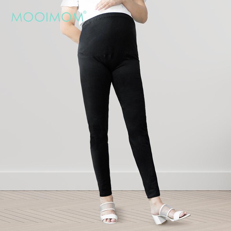 one gallery picture for MOOIMOM Black Maternity Legging - Celana Legging Hamil