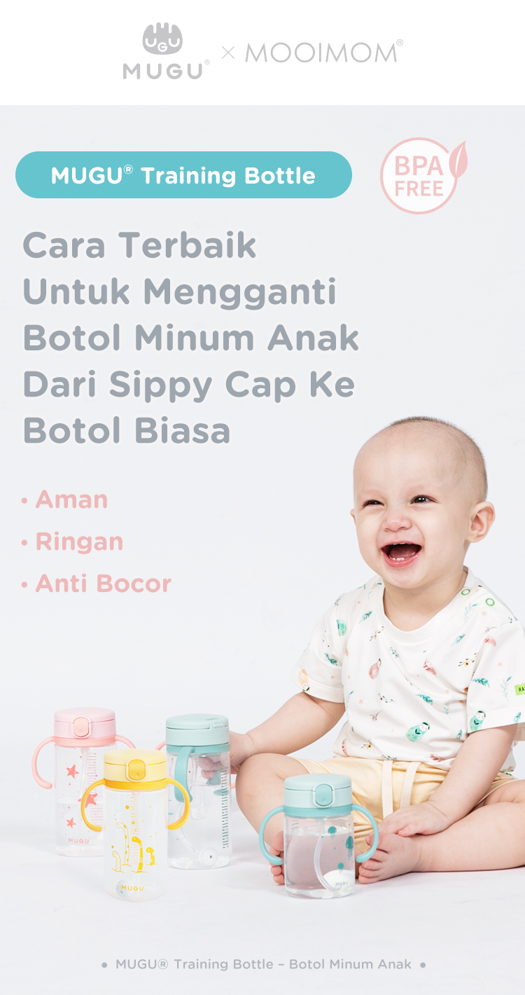 botol bayi ringan anti bocor