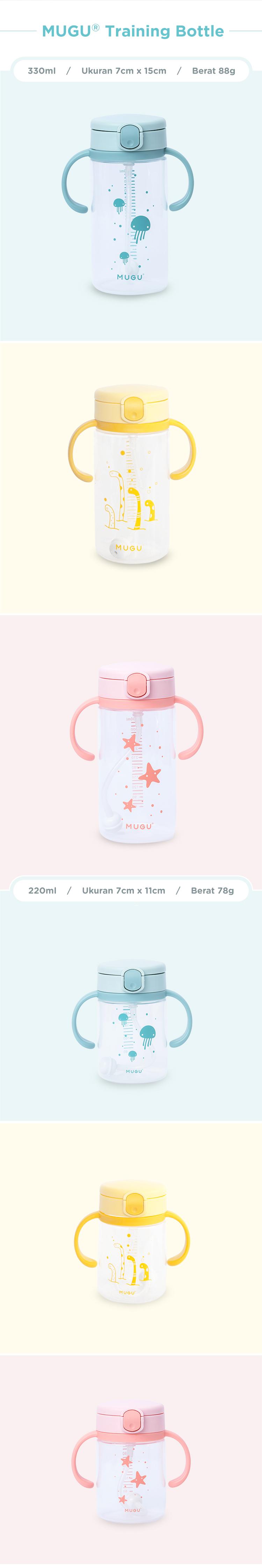 botol bayi banyak warna