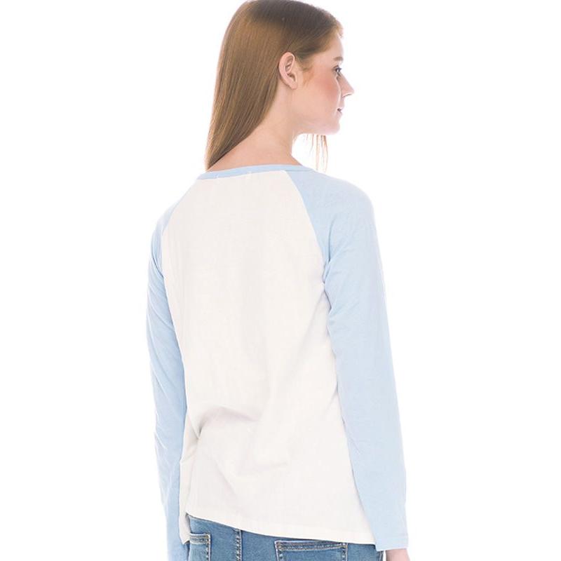 one gallery picture for MOOIMOM Star Long Sleeve Nursing T-shirt Couple Set Baju Hamil Menyusui Couple Ibu Anak