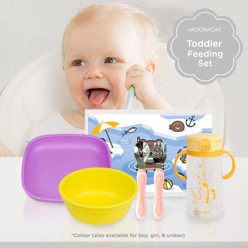 main mobile picture for [Bundling] Toddler Feeding Set - Set Alat Makan Anak