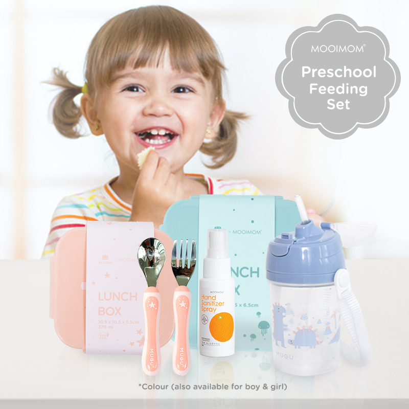 main mobile picture for [Bundling] School Lunchbox Set (5 pcs) - Set Kotak Makan Sekolah Anak