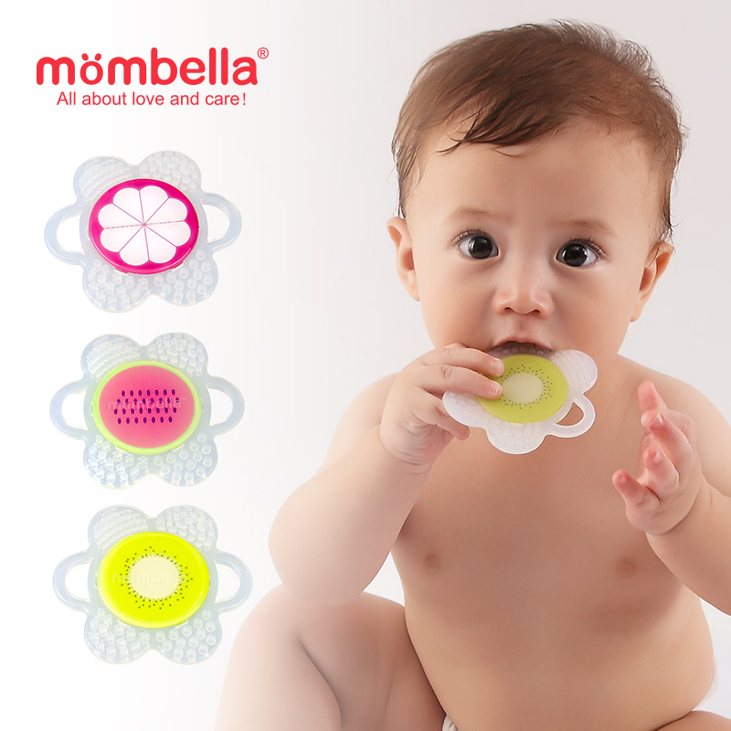 main mobile picture for [MOMBELLA] Flower Fruit Teether Mainan Gigitan Bayi