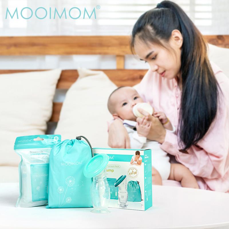 main mobile picture for MOOIMOM Silicone Breastpump Premium Pack