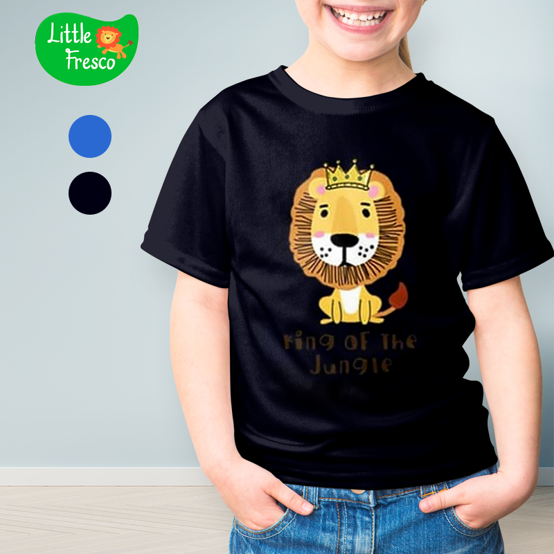 main mobile picture for [LITTLE FRESCO] T-Shirt Anak King Of Jungle