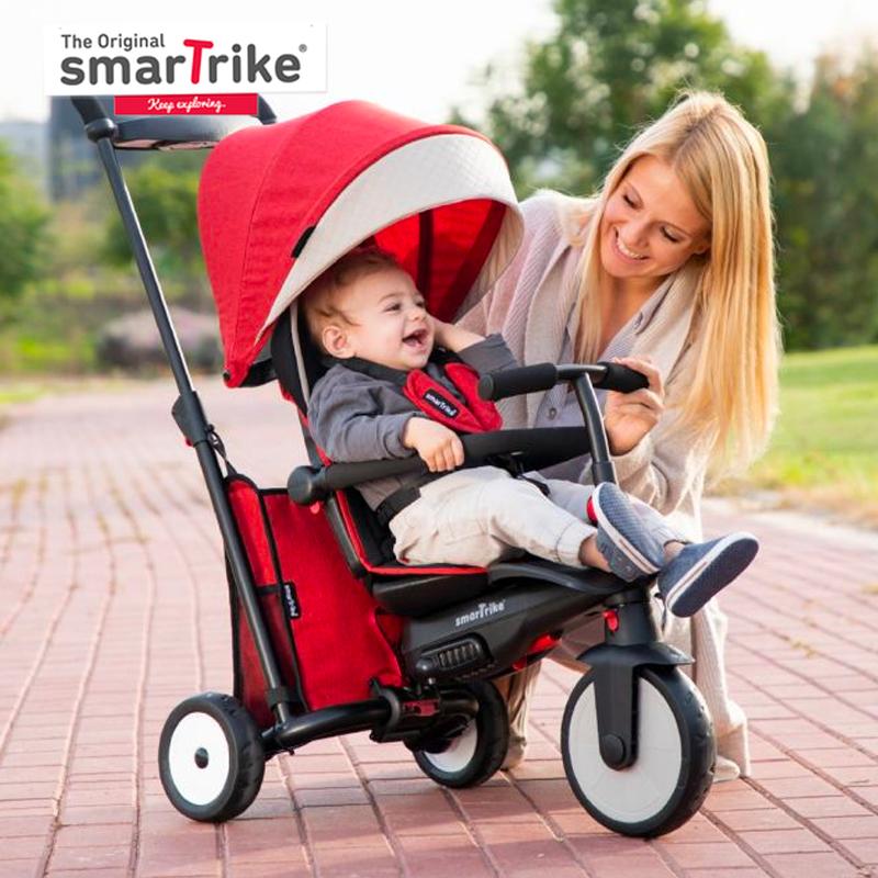 main mobile picture for [SMART TRIKE]  Smartfold STR5 Melange - Kereta Bayi