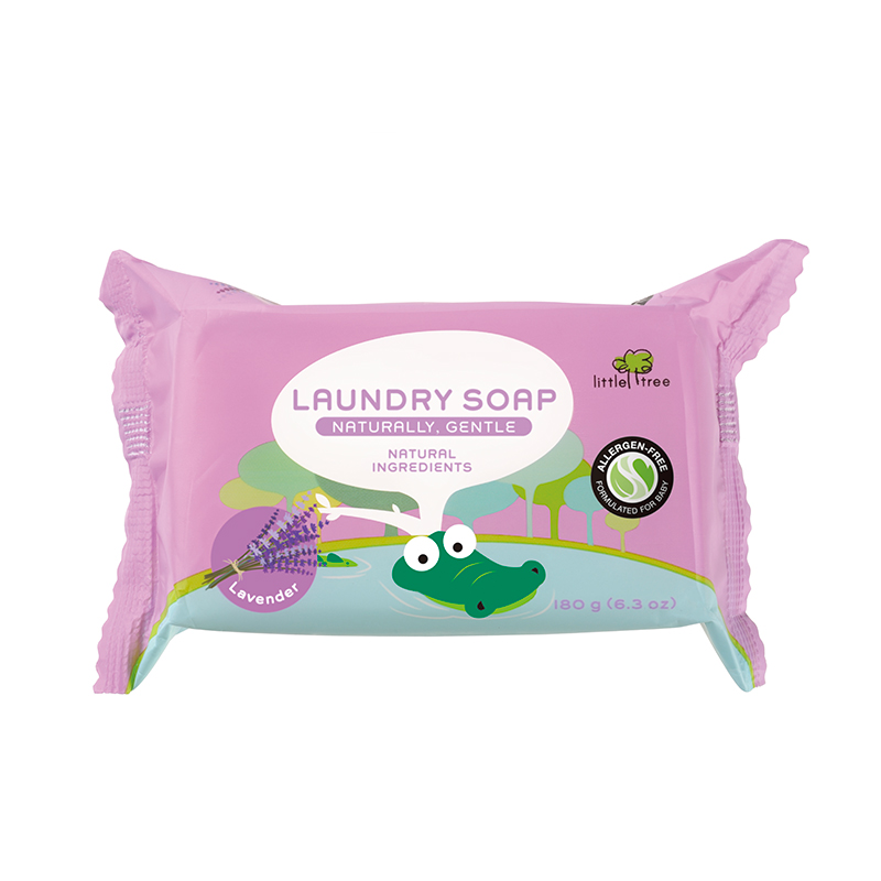 one gallery picture for [LITTLE TREE] Baby Laundry Soap Sabun Cuci Batang Baju Bayi (Lavender)