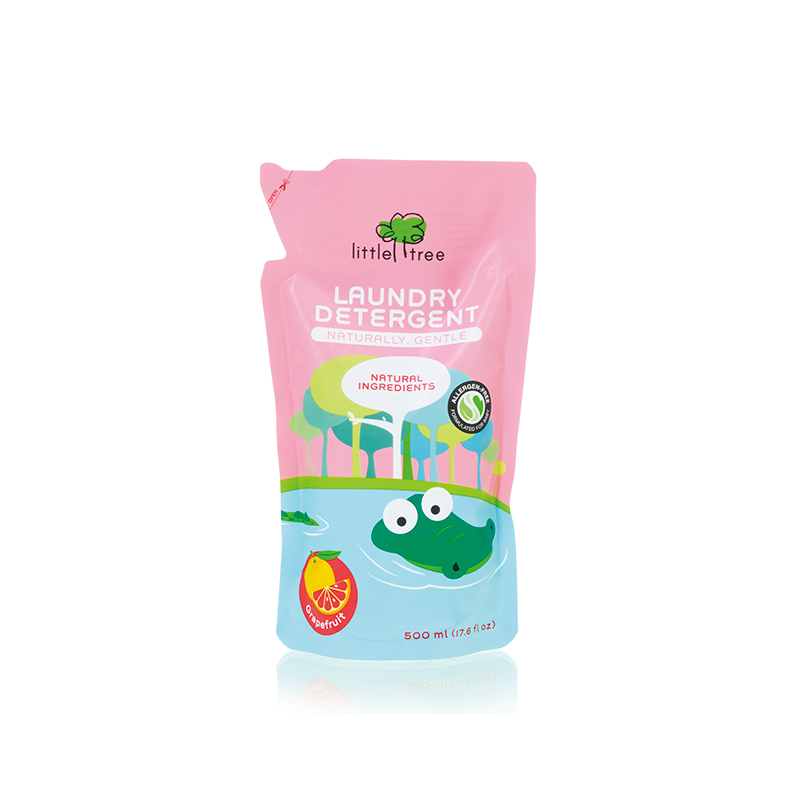 one gallery picture for [LITTLE TREE] Baby Laundry Detergent (Grapefruit,500ml)