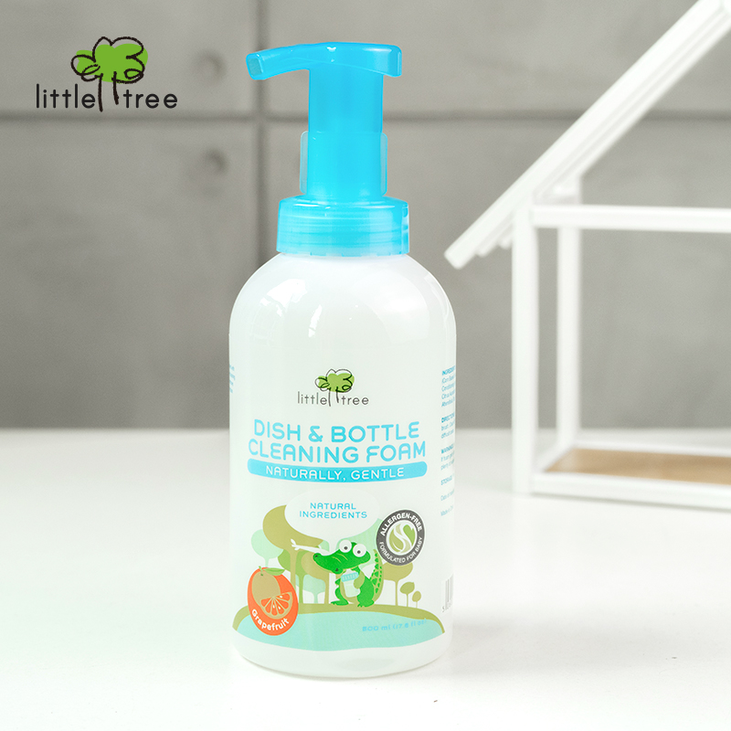 main mobile picture for [LITTLE TREE] Dish & Bottle Cleaning Foam Sabun Cuci Botol Bayi (Grape Fruit)