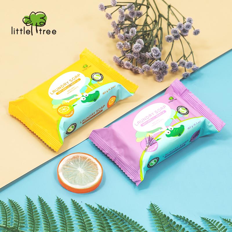 main mobile picture for [LITTLE TREE] Baby Laundry Soap Sabun Cuci Batang Baju Bayi (Lavender)
