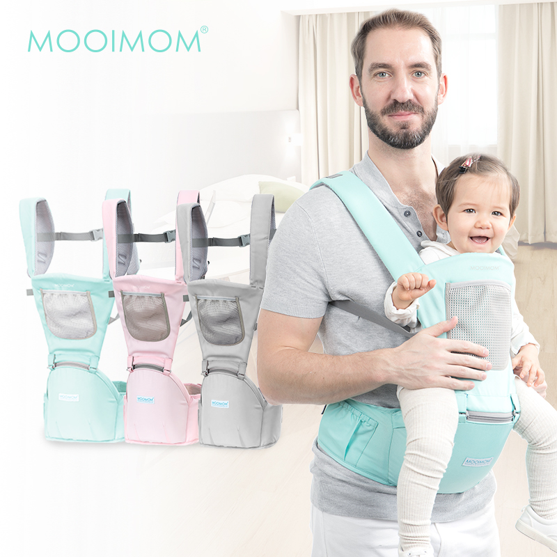 main mobile picture for MOOIMOM Casual Hipseat Carrier