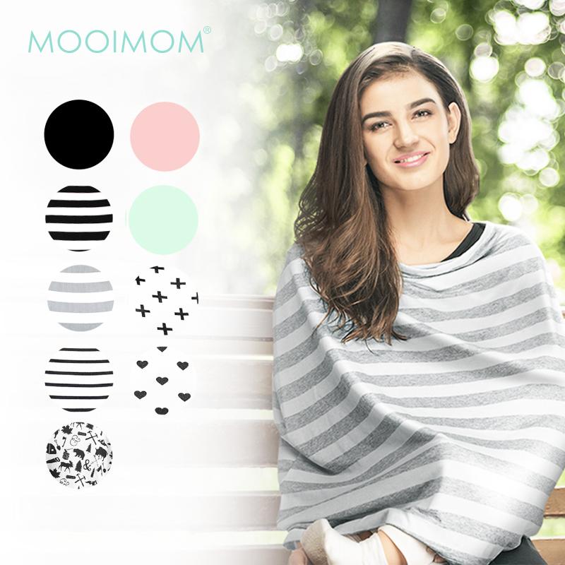 main mobile picture for MOOIMOM Multi-Use Nursing Scarf - Apron Menyusui Multifungsi