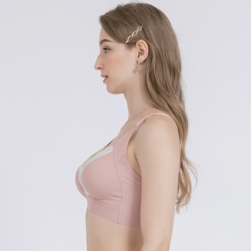 one gallery picture for MOOIMOM Extra Soft Crossover Maternity & Nursing Bra