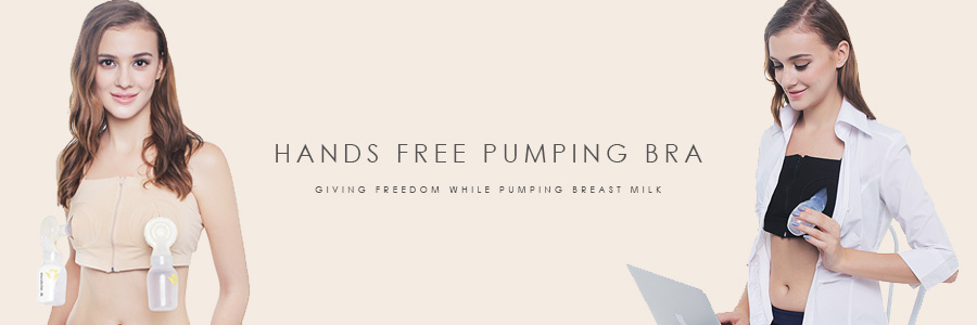 Bra Pompa Asi / Hands Free Pumping Bra -MOOIMOM Online Shop
