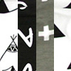 A6-黑白字母