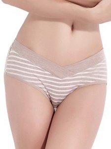 Crossover Low Waist Maternity Briefs Celana Dalam Hamil
