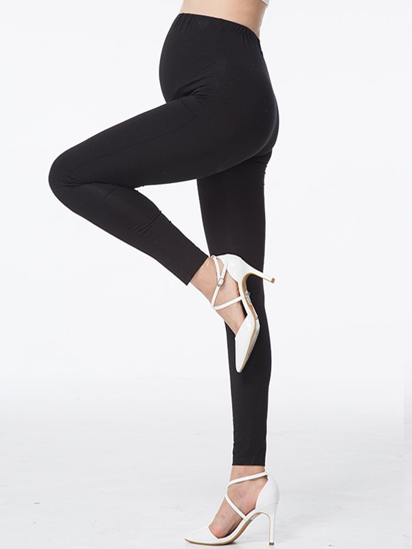 Full Length Maternity Leggings Celana Legging Hamil