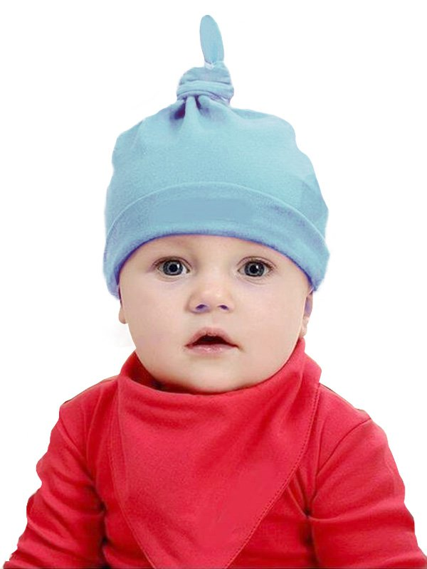 Newborn Cotton Knot Hat - Topi Bayi