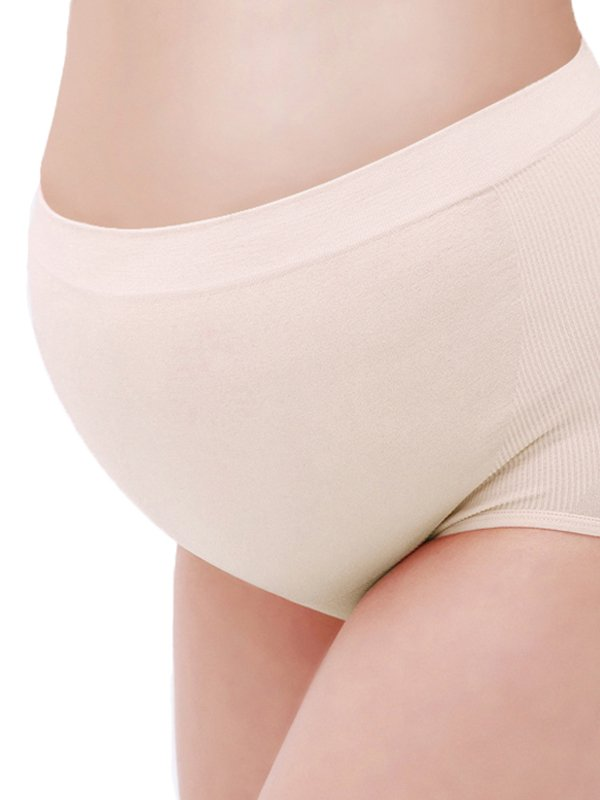 Seamless Hight Waist Maternity Briefs