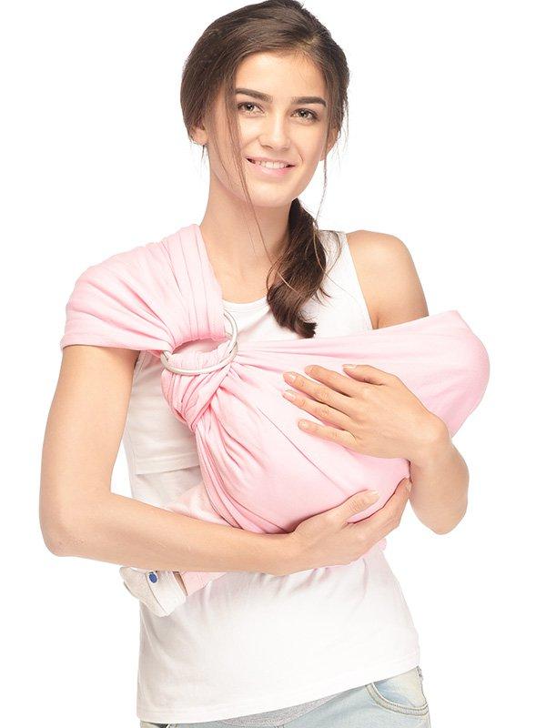 Jual Gendongan Bayi Murah I Pink Lady Baby Sling - MOOIMOM