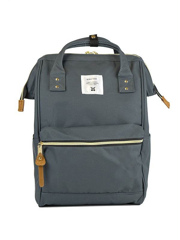 anello® Rucks With Mouthpiece Tas Ransel -Charcoal Gray