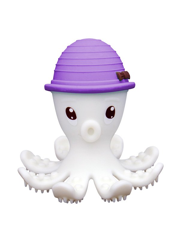 Mombella Octopus Teether Toy Doo - Lilac