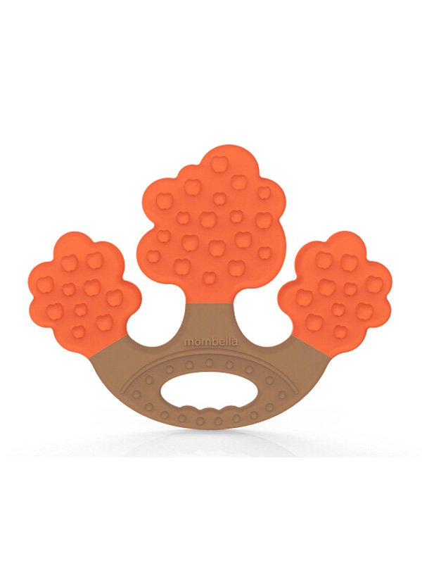 Mombella Apple Tree Teether - Orange